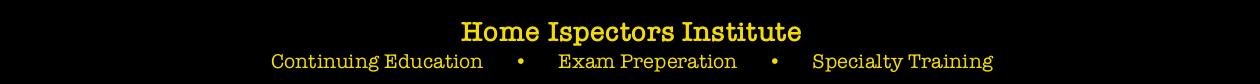 Home Inspectors Institute